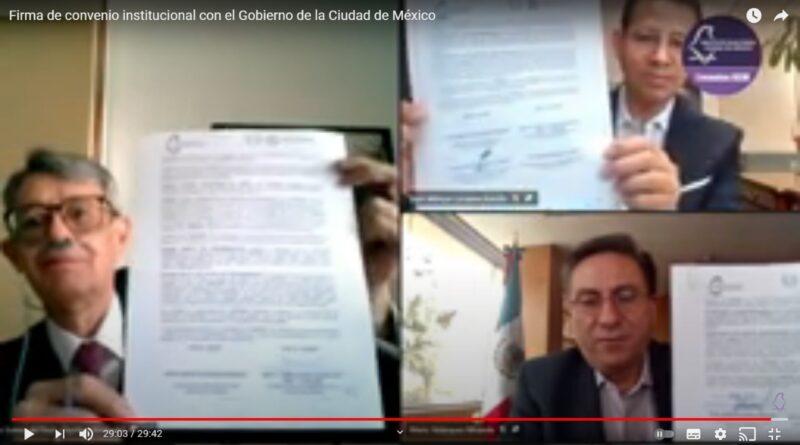 Suman esfuerzos IECM y Gobierno de la Ciudad, Rumbo a Elecciones locales 2021