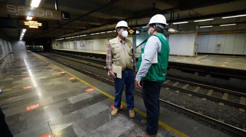 Avanza en 88.64% la Revisión del Tramo Subterráneo de la Línea 12 del Metro