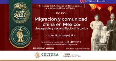 El INEHRM realizará un Foro Virtual para Analizar la Historia de la Comunidad China en México